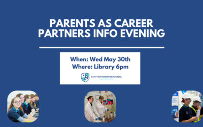Parents as Career Partners Info Evening