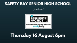 The Resilience Project comes to Safety Bay!