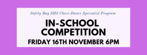 Cheer-Dance In School Competition