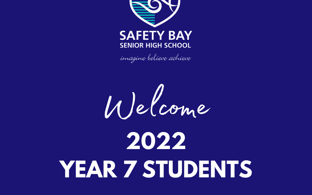 Welcome to Year 7 2022!