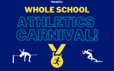 Join us for our 2021 Whole School Athletics Carnival!
